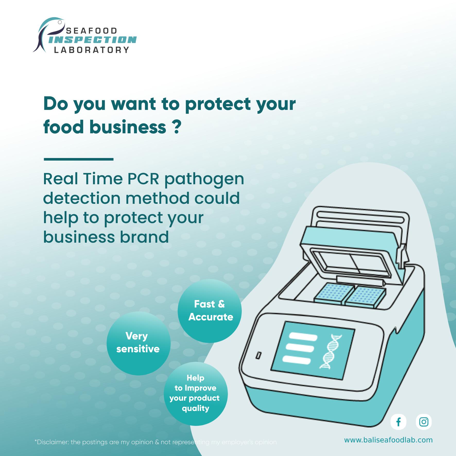 Salmonella detection with PCR