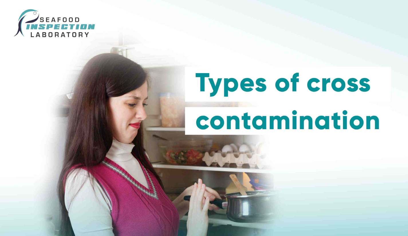 Types of cross contamination